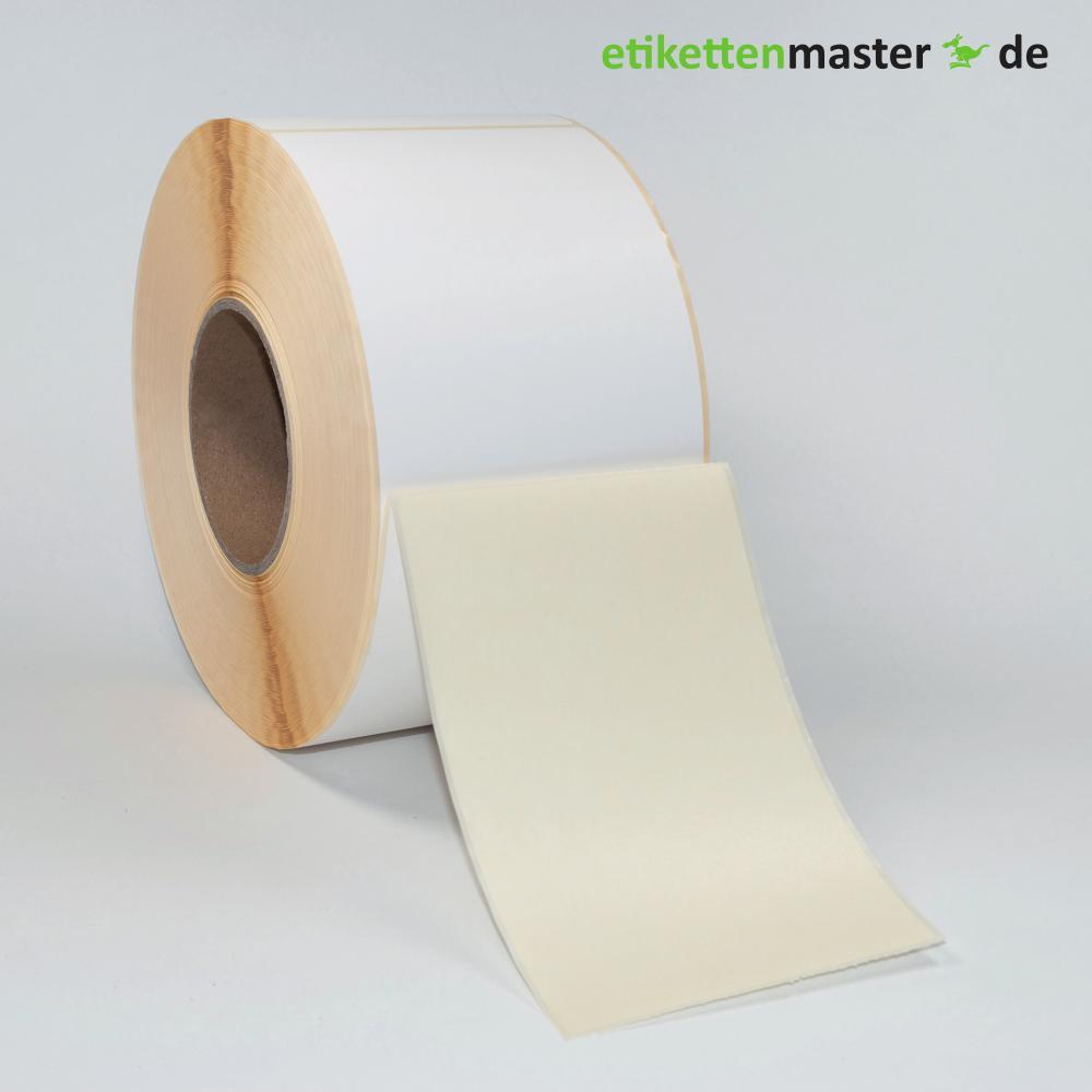 101,6 x 152,4 mm, Thermodirekt, Rolle, Kern 76 mm, 1.250 Etiketten