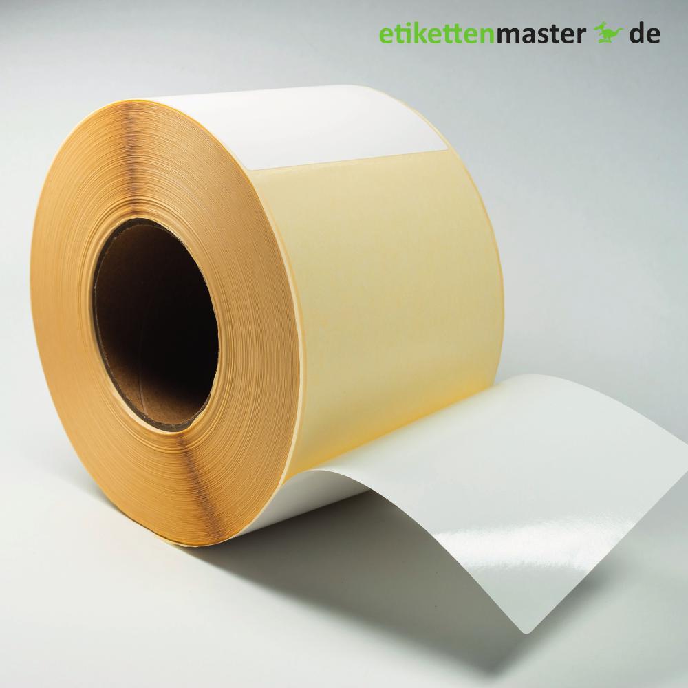 103 x 199 mm, Thermodirekt, Rolle, Kern 76 mm, 750 Etiketten