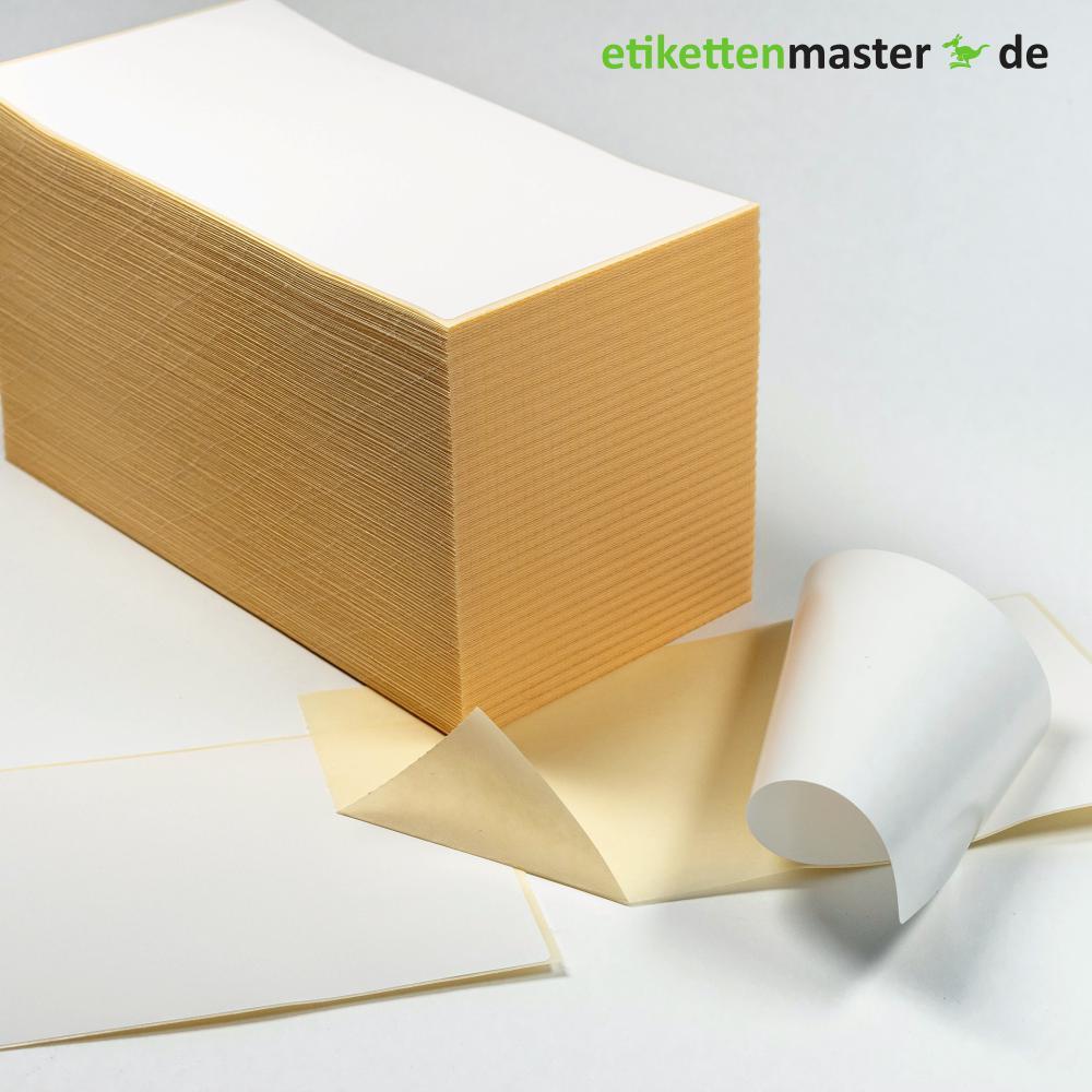 103 x 199 mm, Thermodirekt, Stapel, 1.000 Etiketten