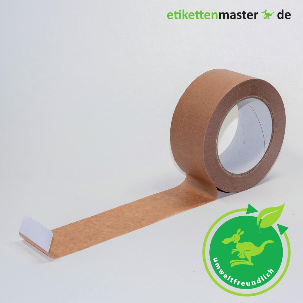 Paketklebeband, 50 mm x 50 lfm, Papier, braun, 105 µ, Kern 76mm