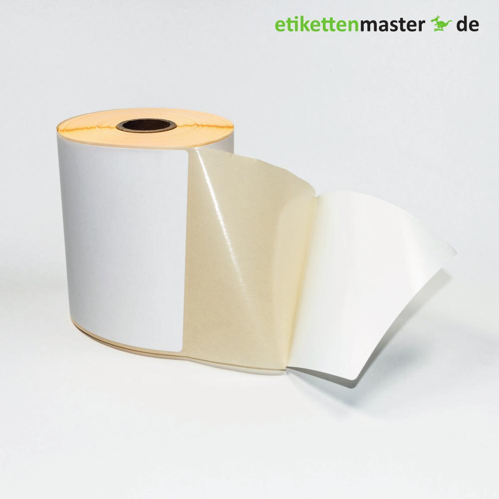 101,6 x 152,4 mm, Thermodirekt, Rolle, Kern 25,4 mm, 350 Etiketten
